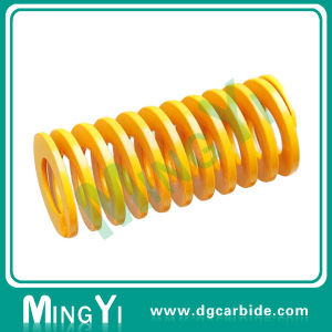 High Pressure Spring Mold Parts Yellow Red Green Compression Spring pictures & photos