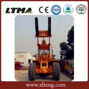 28 Ton Forklift Front Loader Price for Lifitng Stone pictures & photos
