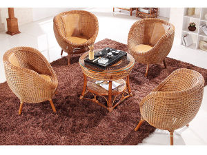 Moden Style Rattan Furniture for Home Hotel Restaurant pictures & photos