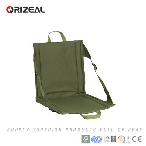 Orizeal Lightweight Outdoor Folding Portable Stadium Seat Cushion with Seat Back pictures & photos