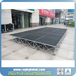 Stable Outdoor Concert Dance Folding Stage Platforms pictures & photos