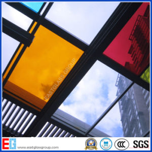 Clear and Colored Laminated Glass with CE, SGS pictures & photos