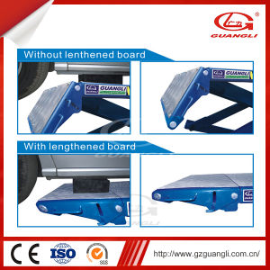 Guangli Factory Ce Approved High Quality Four Cylinders Movable Hydraulic Scissor Car Lift pictures & photos