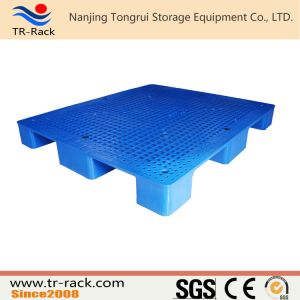 4-Way Entry Durable Single Side Mesh Surface Plastic Pallet for Pallet Racking pictures & photos