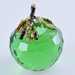 Beautiful Glass Colorful Apple Crafts for Holiday Gift pictures & photos