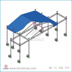 Aluminum Stage Truss Goal Post Truss pictures & photos