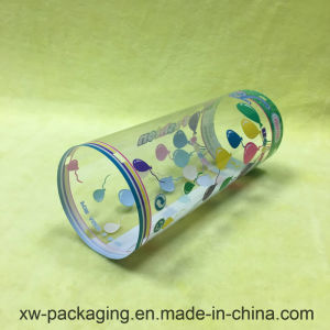 Transparent Cylinder Box for Plastic Packaging pictures & photos