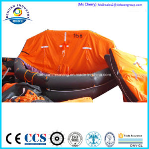Throw-Over Type 6 Person Inflatable Liferaft