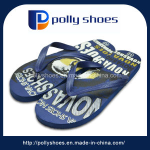 Comfort EVA Men Thong Sandals Custom Simple Flip Flops pictures & photos