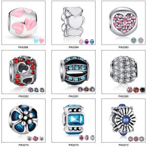 Fashion Design Alloy Brass Charm Beads for Bracelet Jewelry pictures & photos