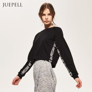 Short Sweatshirt with Print pictures & photos