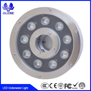 12V IP68 Stainless Steel Material DMX RGB 9W 12W Fountain LED Underwater Light pictures & photos