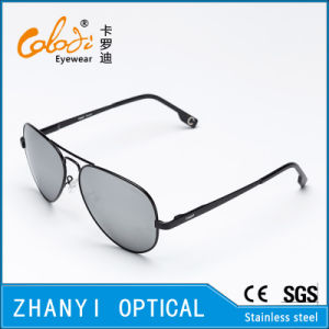 Fashion Colorful Metal Sunglasses for Driving with Polaroid Lense (3025-C6)