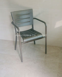 Industrial Aluminum Chair Vintage Arm Chair Outdoor Restaurant Furniture pictures & photos