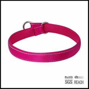 Reflective Safety Nylon Padded Comfortable Pet Dog Training Collar pictures & photos