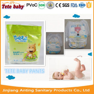 2017 Tete OEM Brand Premim Quality Super Soft Cotton Baby Diaper Factory pictures & photos