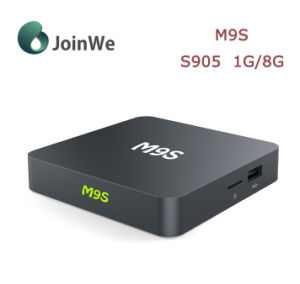 Smart Set Top Box M9s S905 Android 5.1 TV Box pictures & photos