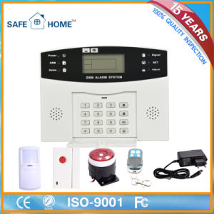 Wireless LCD Display GSM Alarm System with User Manual pictures & photos