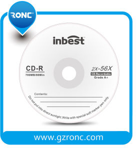 Promotion Price Grade a Quatity Blank CD-R with Inbest Brand pictures & photos