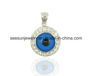 925 Sterling Silver Jewelry Greek Eye Evil Eye Pendant pictures & photos