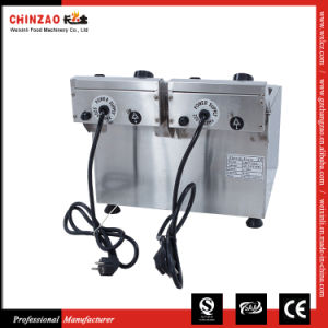 Double Electric Deep Fryers (DZL-082B) pictures & photos