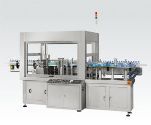 Hot Melt Glue Rotary Labeling Machine and Roll Fed Labeler pictures & photos