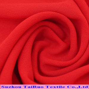100 Polyester Crepe Chiffon Fabric/Polyester Chiffon/Polyester Chiffon Fabric pictures & photos