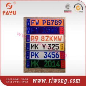 Custom Embossed License Plates, Embossing License Plate pictures & photos