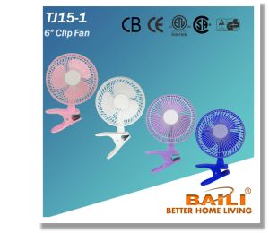 "6"" Clip Fan with Different Colors pictures & photos"
