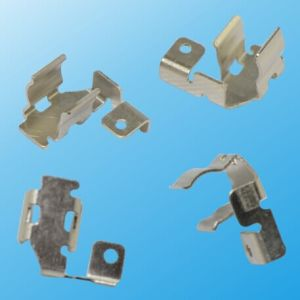 Custom Made Metal Stamping Small Parts as Per Customer′s Drawing (HS-MS-026) pictures & photos