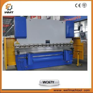 Hydraulic Press Brake Machine Wc67y 63/3200 with E21 pictures & photos