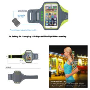 Jogging LED Armband Case, Reflective LED Armband pictures & photos