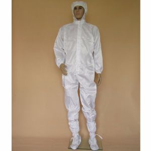ESD Work Garment for Cleanroom Use of Jacket and Pant pictures & photos