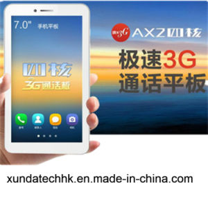 Tablet Computer 3G Quad Core CPU Mtk 8382 IPS 7 Inch Ax2