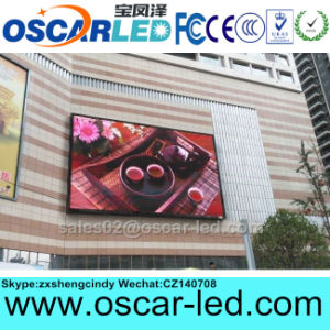 Waterproof HD Video P10 Full Color LED Advertisement Screen Sign for Shopping Mall
