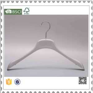Wholesale Brand Plastic Coat Hangers with Logo pictures & photos