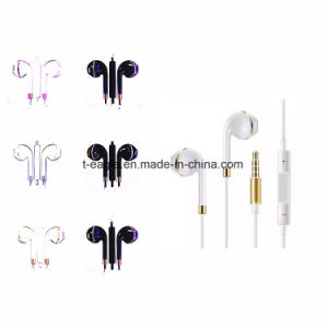 Colorful Earbud Parts Mobile Phone Earphone for iPhone Andirod pictures & photos