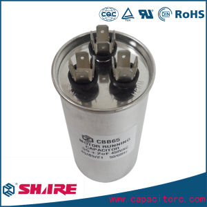 AC Motor Run Air Conditioner Cbb65 Capacitor Dual Capacitor 30+5UF pictures & photos