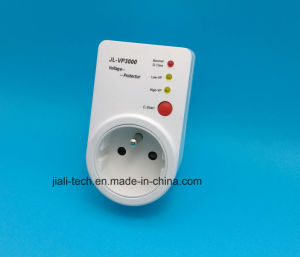 Automatic Under Over Voltage Protection Relay with Plug /Surge and Voltage Protector