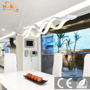 Modern Curve Decorative LED Hanging Lamp Lighting Pendant Light pictures & photos