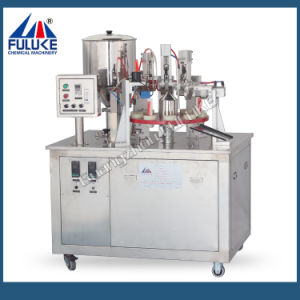 Flk Toothpaste Tube Filler and Sealer Machine with Ce Certificate pictures & photos