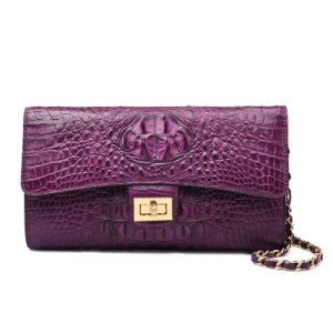 Lady Genuine Leather Clutch Bag Designer Fashion Evening Tote Bag pictures & photos