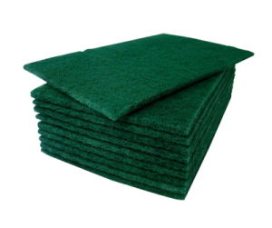 Household Cleaning Scrubber / Nylon Heavy Duty Scouring Pad / Cleaning Scrubber Scourer pictures & photos