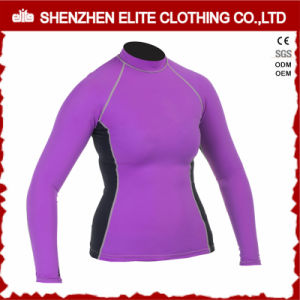 High Quality Long Sleeve Rash Guard for Women (ELTRGI-42) pictures & photos