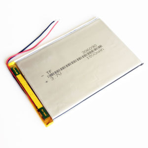 """3.7V 1800mAh Lithium Li-Polymer Lipo Rechargeable Battery for E-Books Mobile Phone Power Bank DIY 7"""" Tablet PC Laptop 306090 pictures & photos"""