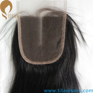 Manufacture Indian Remy Human Hair Middle Part Hair Pieces