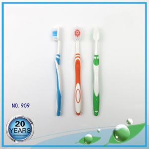 Simple Anti-Slip Adult Toothbrush pictures & photos