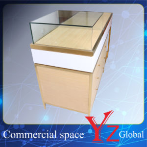 Display Case (YZ161708) Display Cabinet Stainless Steel Display Shelf Display Showcase Exhibition Cabinet Shop Counter pictures & photos