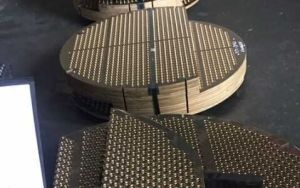 Copper Nickel Alloy UNS C70400 UNS C70620 UNS C68700 Tube Sheets TubeSheets Baffles Support Plates Tube Plates pictures & photos