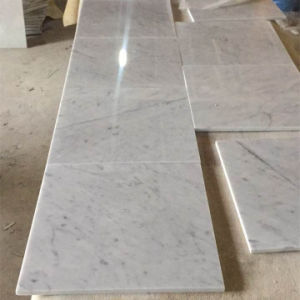 High Quanlity Marble Wall White Carrera Tile pictures & photos